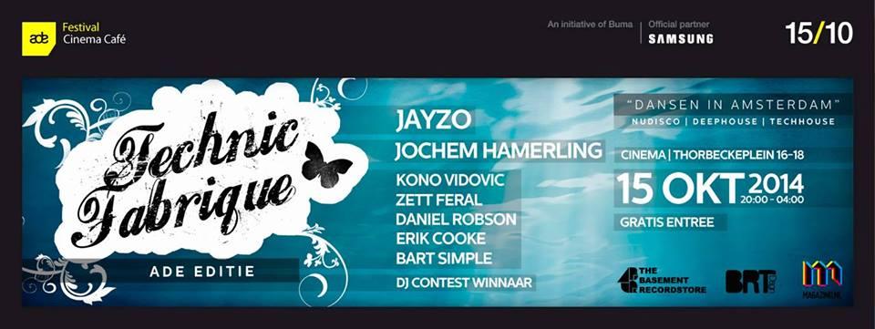 Technic Fabrique #5 | ADE Editie | Amsterdam Dance Event